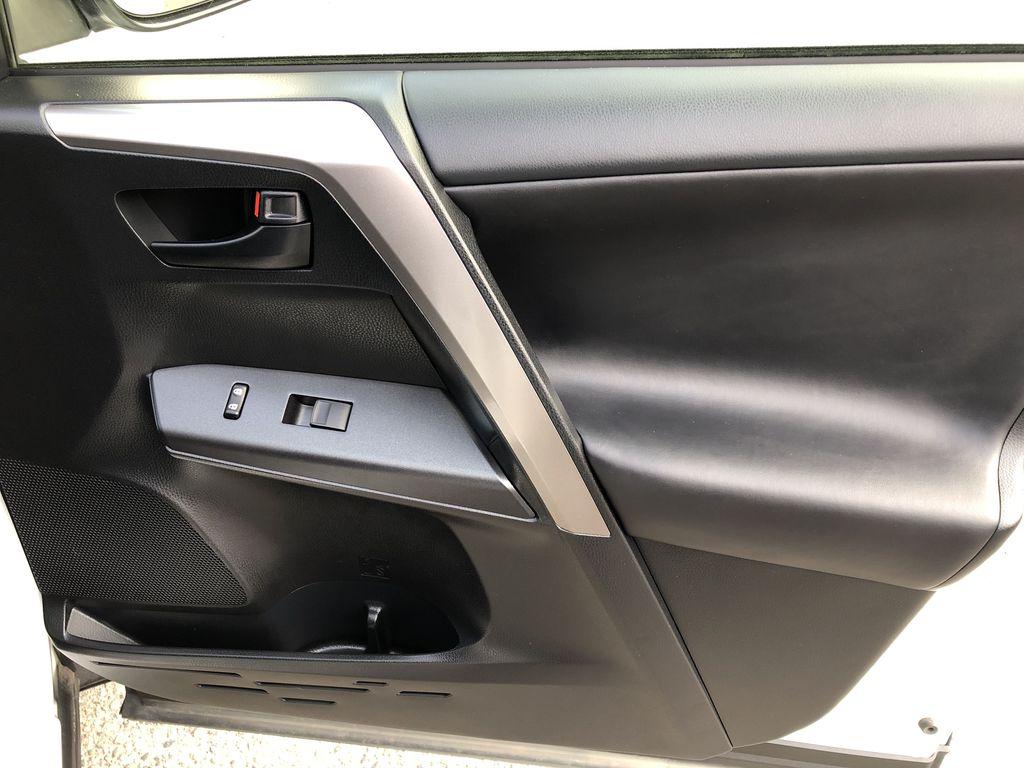 White[Alpine White] 2017 Toyota RAV4 Hybrid Right Front Interior Door Panel Photo in Kelowna BC