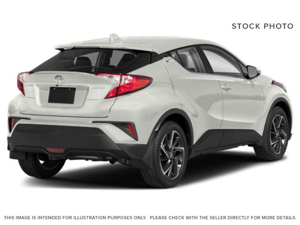 White[Blizzard Pearl] 2021 Toyota C-HR Right Rear Corner Photo in Kelowna BC