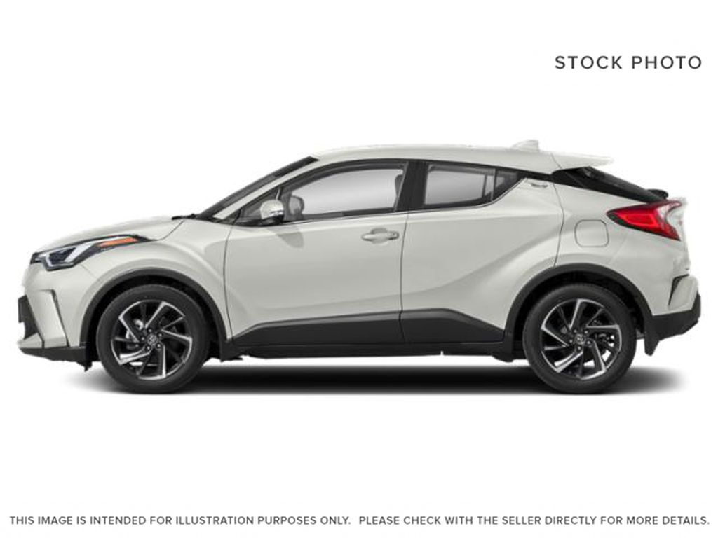 White[Blizzard Pearl] 2021 Toyota C-HR Left Side Photo in Kelowna BC