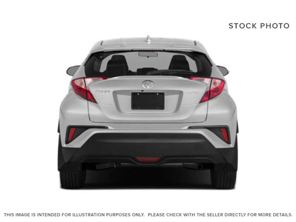 White[Blizzard Pearl] 2021 Toyota C-HR Rear of Vehicle Photo in Kelowna BC