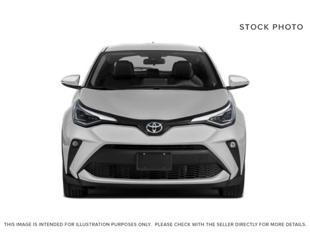 White[Blizzard Pearl] 2021 Toyota C-HR Front Vehicle Photo in Kelowna BC