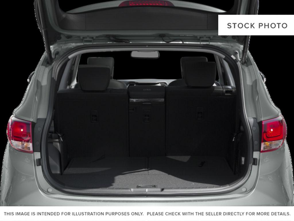 White[Monaco White] 2017 Hyundai Santa Fe XL Trunk / Cargo Area Photo in Kelowna BC