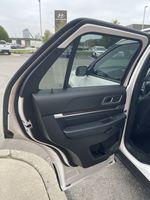 White[White Platinum Metallic Tri-Coat] 2017 Ford Explorer clean Odometer Photo in Brampton ON