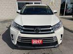 White[Blizzard Pearl] 2017 Toyota Highlander clean Left Side Photo in Brampton ON