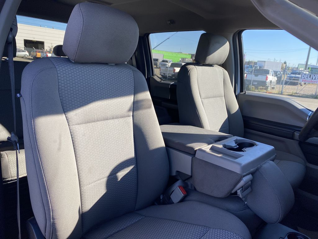 White[Oxford White] 2019 Ford Super Duty F-250 SRW Right Side Front Seat  Photo in Edmonton AB