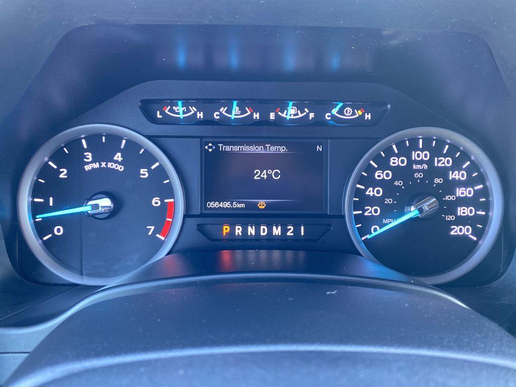 White[Oxford White] 2019 Ford Super Duty F-250 SRW Odometer Photo in Edmonton AB