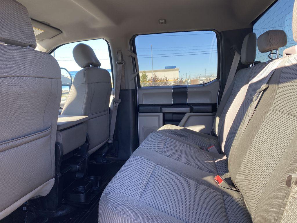 White[Oxford White] 2019 Ford Super Duty F-250 SRW Left Side Rear Seat  Photo in Edmonton AB