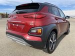 Red[Pulse Red w/Black Roof] 2018 Hyundai Kona Right Rear Corner Photo in Edmonton AB
