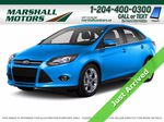Blue[Blue Candy Metallic Tinted] 2013 Ford Focus Primary Photo in Brandon MB