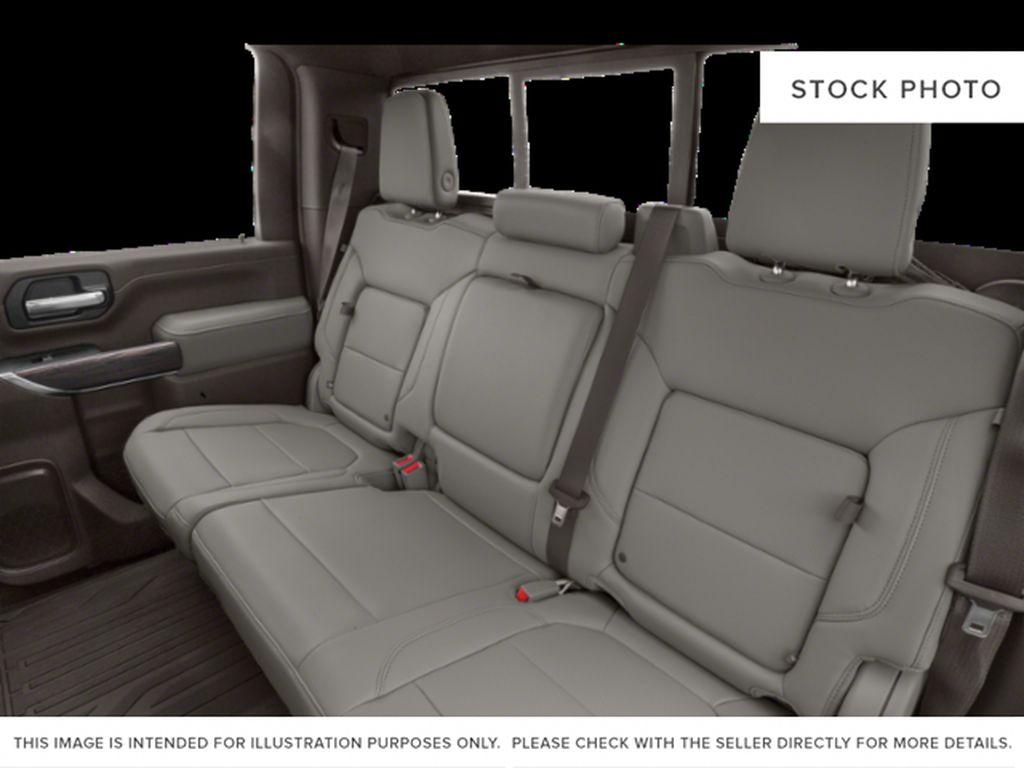 Silver[Quicksilver Metallic] 2021 GMC Sierra 3500HD Left Side Rear Seat  Photo in Fort Macleod AB