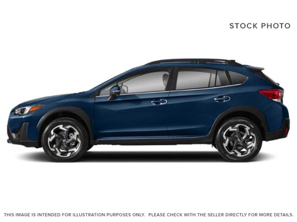 Blue[Dark Blue Pearl] 2021 Subaru Crosstrek Left Side Photo in Lethbridge AB