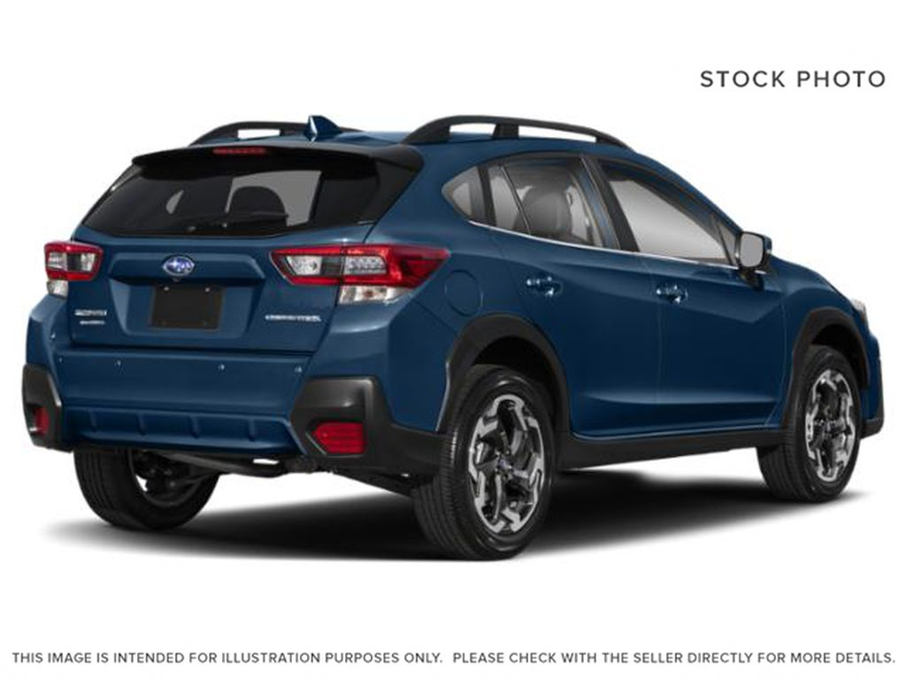 Blue[Dark Blue Pearl] 2021 Subaru Crosstrek Right Rear Corner Photo in Lethbridge AB