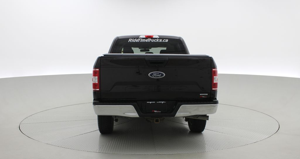 Red[Magma] 2018 Ford F-150 XLT 4WD - 3.5L EcoBoost, SupreCrew, Running Boards Rear of Vehicle Photo in Winnipeg MB