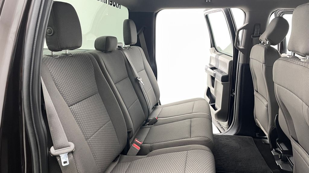 Red[Magma] 2018 Ford F-150 XLT 4WD - 3.5L EcoBoost, SupreCrew, Running Boards Right Side Rear Seat  Photo in Winnipeg MB