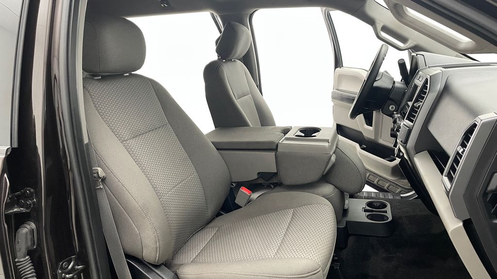Red[Magma] 2018 Ford F-150 XLT 4WD - 3.5L EcoBoost, SupreCrew, Running Boards Right Side Front Seat  Photo in Winnipeg MB