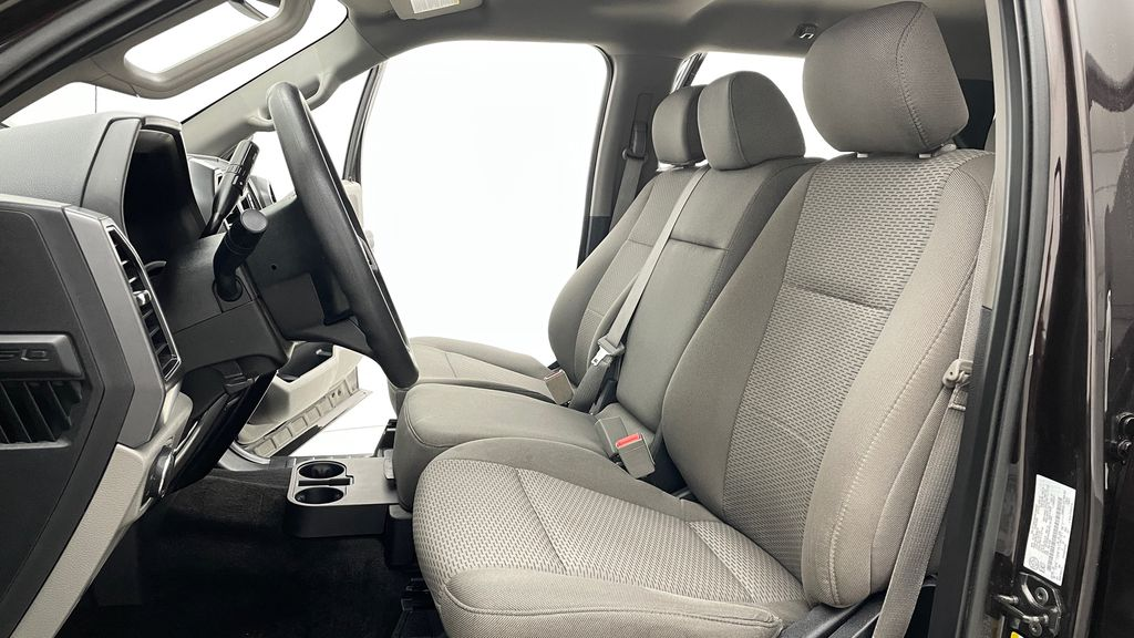 Red[Magma] 2018 Ford F-150 XLT 4WD - 3.5L EcoBoost, SupreCrew, Running Boards Left Front Interior Photo in Winnipeg MB