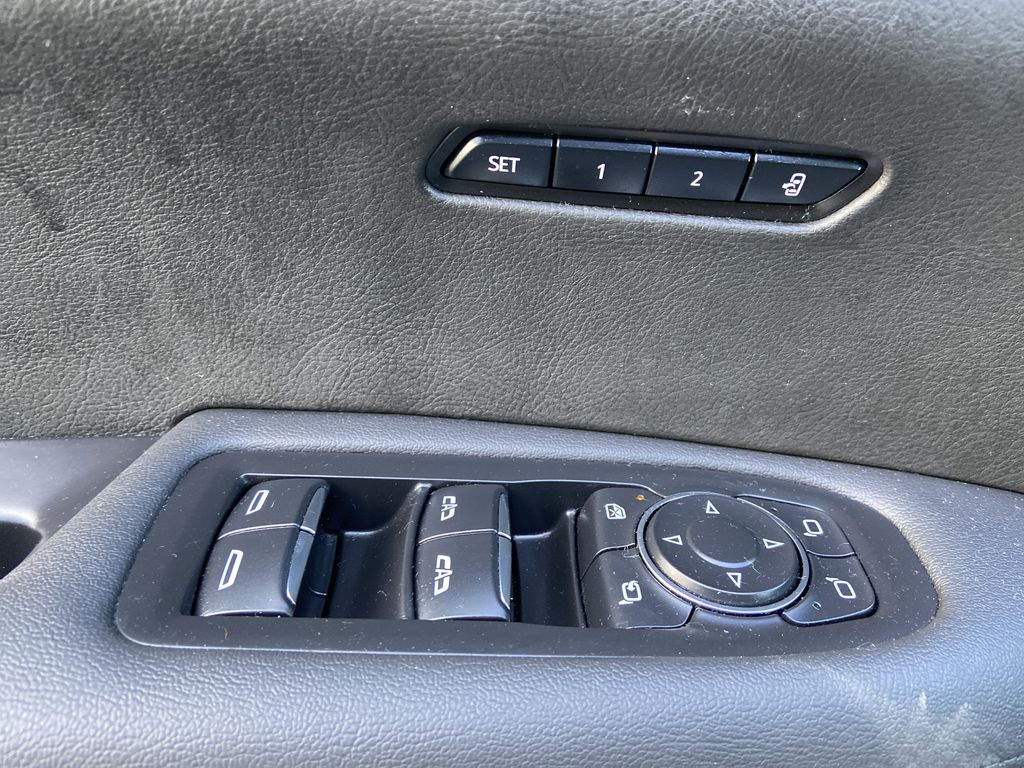 Black[Manhattan Noir Metallic] 2020 Cadillac XT6 Premium Luxury  Driver's Side Door Controls Photo in Calgary AB