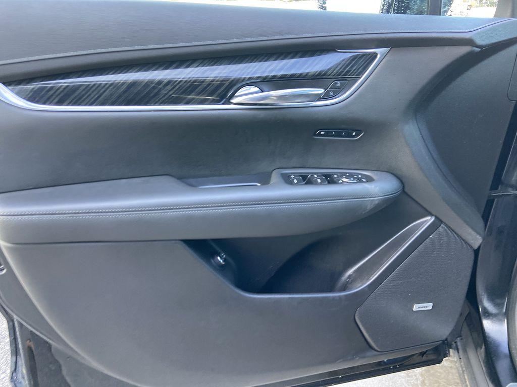 Black[Manhattan Noir Metallic] 2020 Cadillac XT6 Premium Luxury Left Front Interior Door Panel Photo in Calgary AB