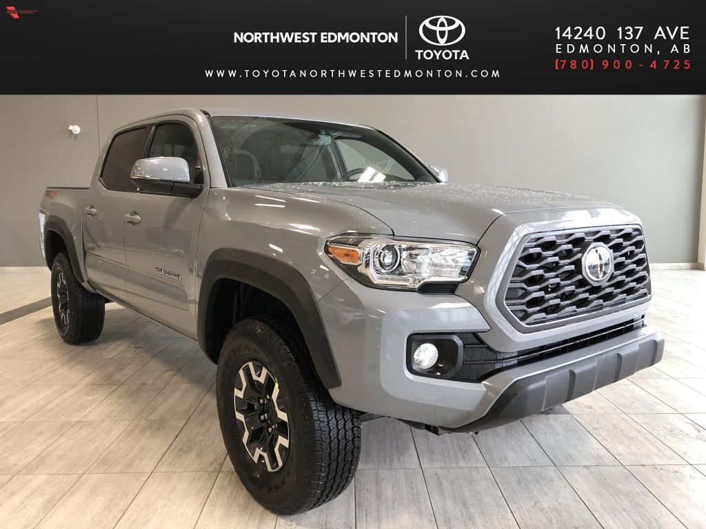 Cement 2021 Toyota Tacoma 4WD Double Cab TRD Off Road