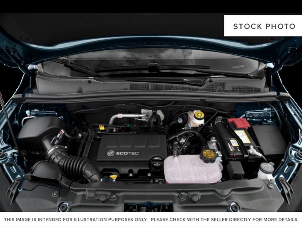 White[Summit White] 2022 Buick Encore Engine Compartment Photo in Lethbridge AB