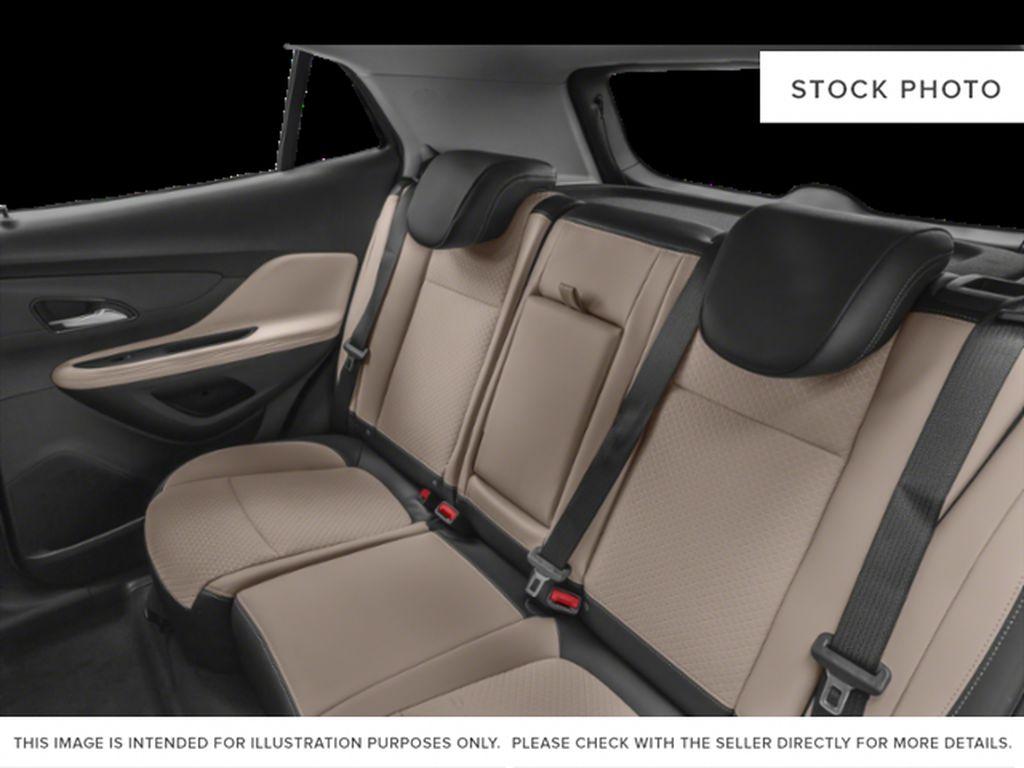 White[Summit White] 2022 Buick Encore Left Side Rear Seat  Photo in Lethbridge AB