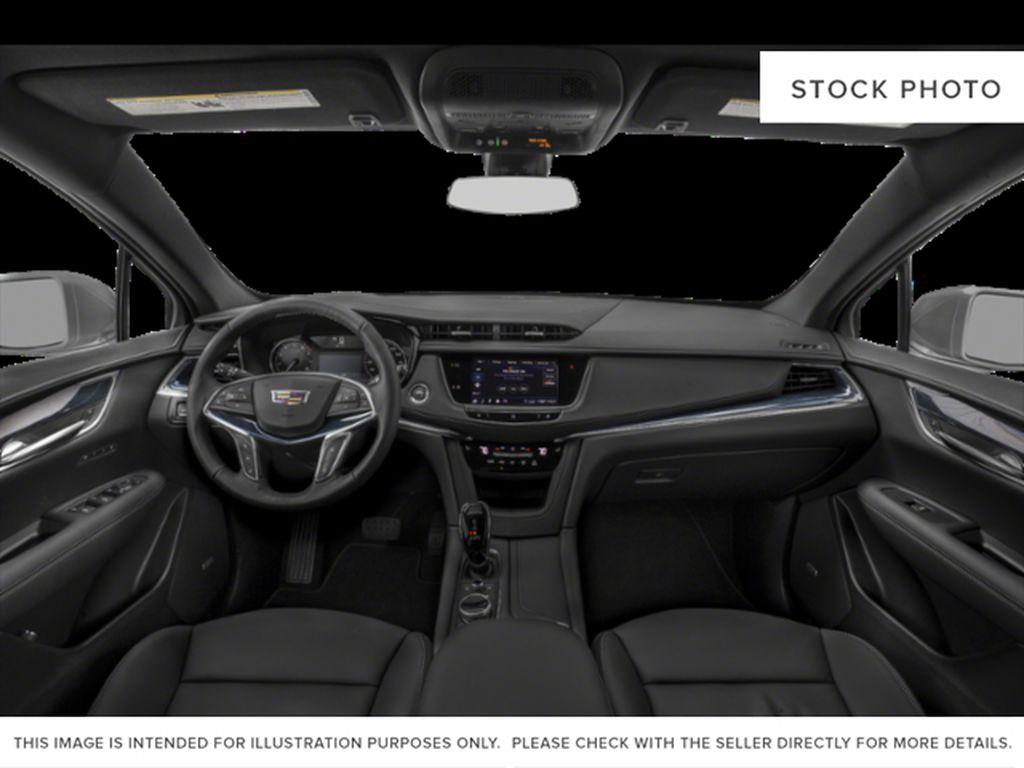 Black[Stellar Black Metallic] 2022 Cadillac XT5 Premium Luxury Central Dash Options Photo in Calgary AB