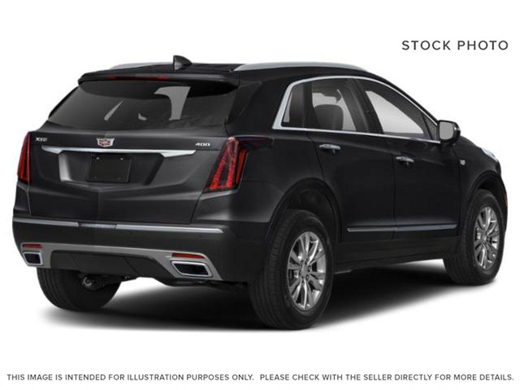 Black[Stellar Black Metallic] 2022 Cadillac XT5 Premium Luxury Right Rear Corner Photo in Calgary AB