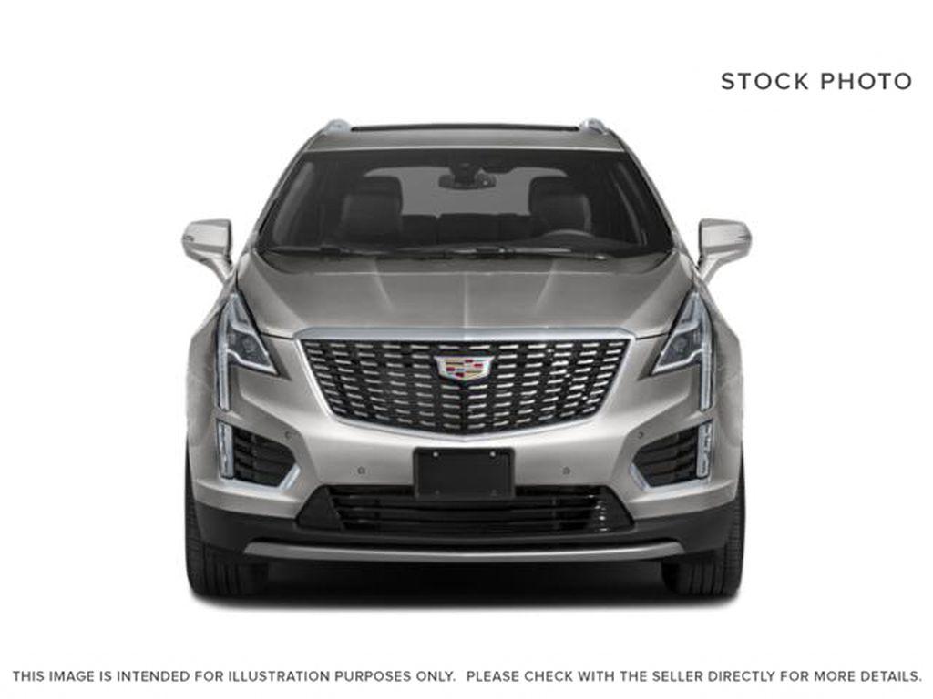 Black[Stellar Black Metallic] 2022 Cadillac XT5 Premium Luxury Front Vehicle Photo in Calgary AB