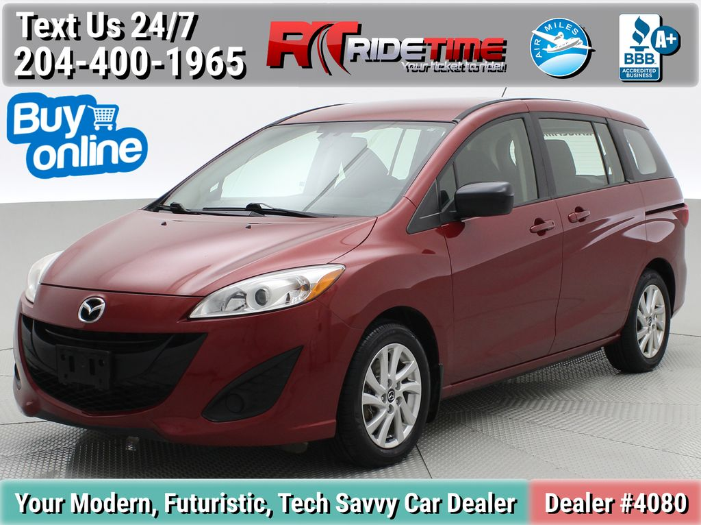 Red[Zeal Red Mica] 2015 Mazda Mazda5 GS - 3rd Row Seating, Alloy Wheels, Bluetooth