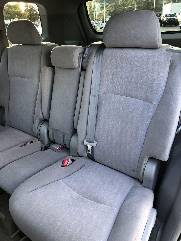 Silver[Classic Silver Metallic] 2009 Toyota Highlander Hybrid Left Side Rear Seat  Photo in Kelowna BC