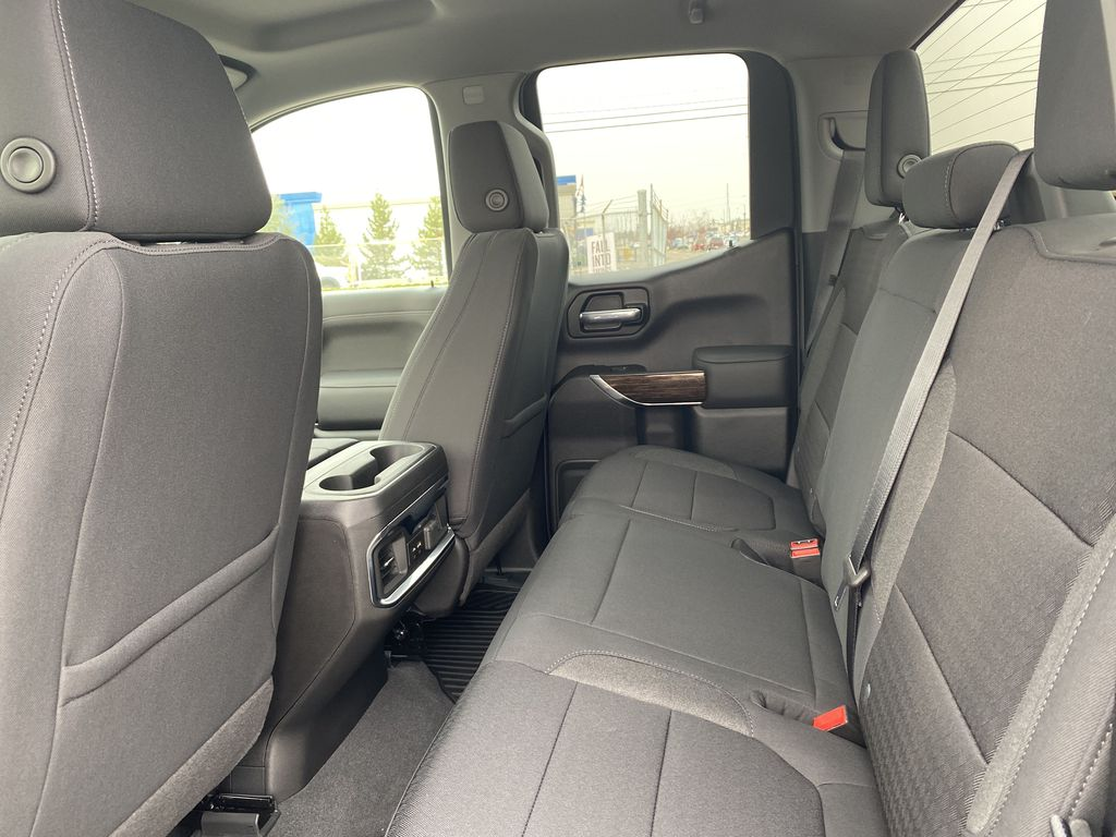 Blue[Pacific Blue Metallic] 2021 GMC Sierra 1500 Left Side Rear Seat  Photo in Edmonton AB