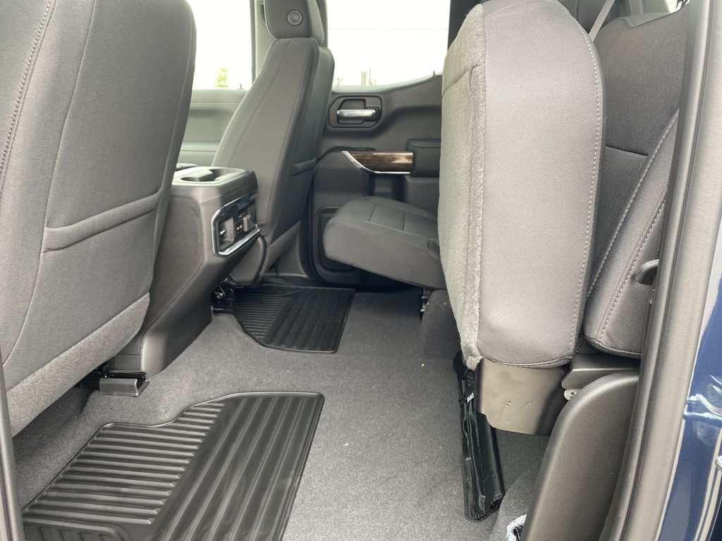 Blue[Pacific Blue Metallic] 2021 GMC Sierra 1500 Rear Seat: Cargo/Storage Photo in Edmonton AB