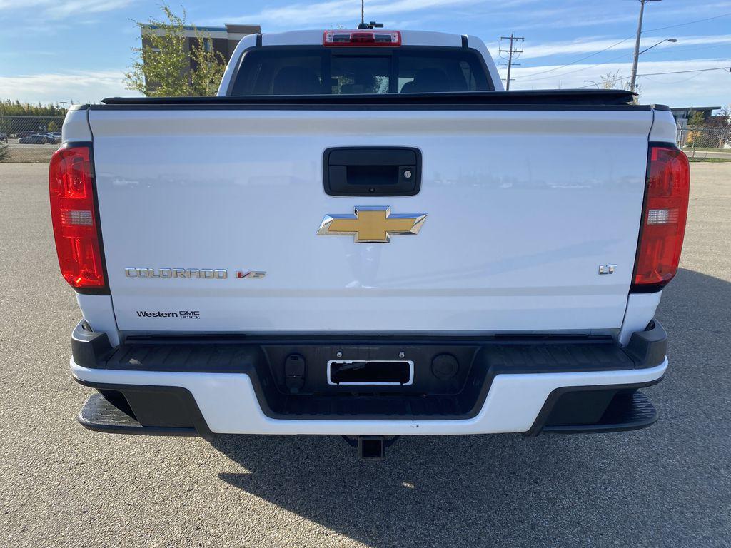 White[Summit White] 2017 Chevrolet Colorado Rear of Vehicle Photo in Edmonton AB