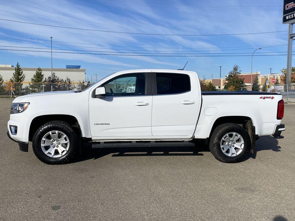 White[Summit White] 2017 Chevrolet Colorado Left Side Photo in Edmonton AB