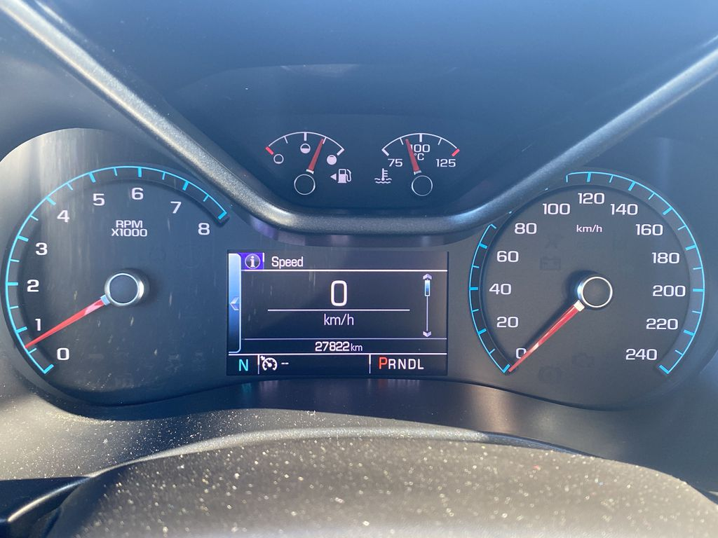White[Summit White] 2017 Chevrolet Colorado Odometer Photo in Edmonton AB