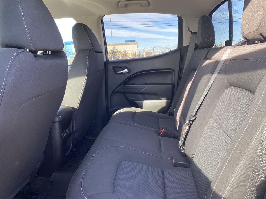 White[Summit White] 2017 Chevrolet Colorado Left Side Rear Seat  Photo in Edmonton AB