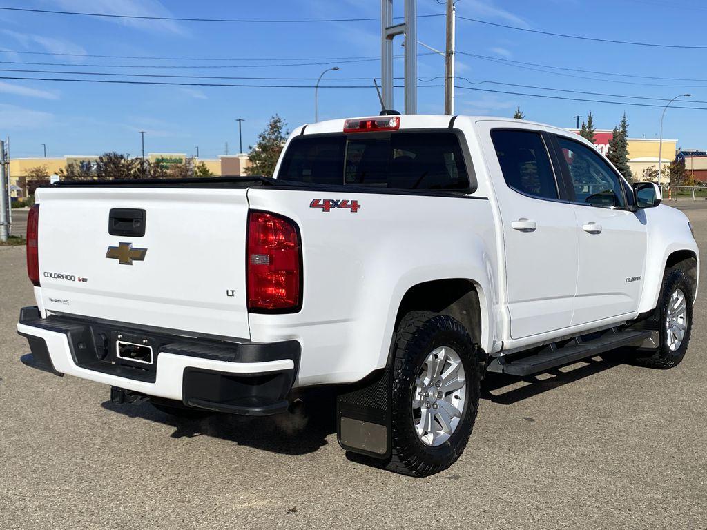 White[Summit White] 2017 Chevrolet Colorado Right Rear Corner Photo in Edmonton AB
