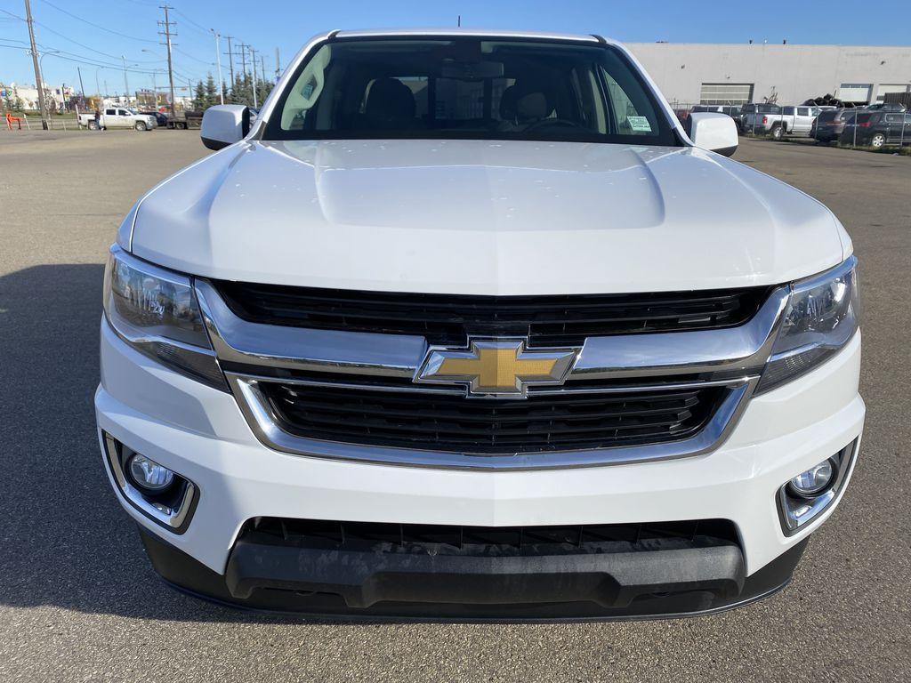 White[Summit White] 2017 Chevrolet Colorado Front Vehicle Photo in Edmonton AB
