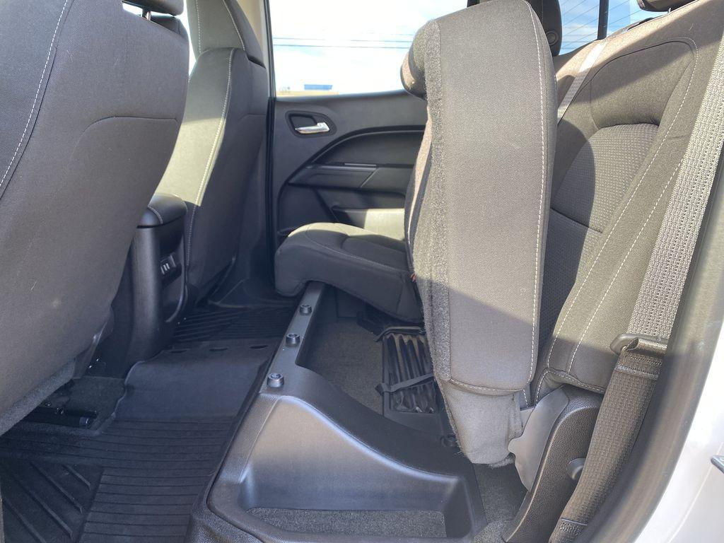 White[Summit White] 2017 Chevrolet Colorado Rear Seat: Cargo/Storage Photo in Edmonton AB