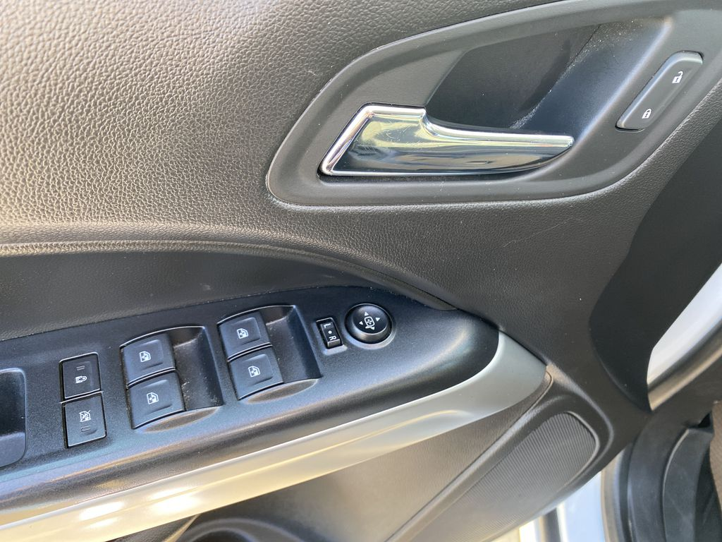 White[Summit White] 2017 Chevrolet Colorado  Driver's Side Door Controls Photo in Edmonton AB