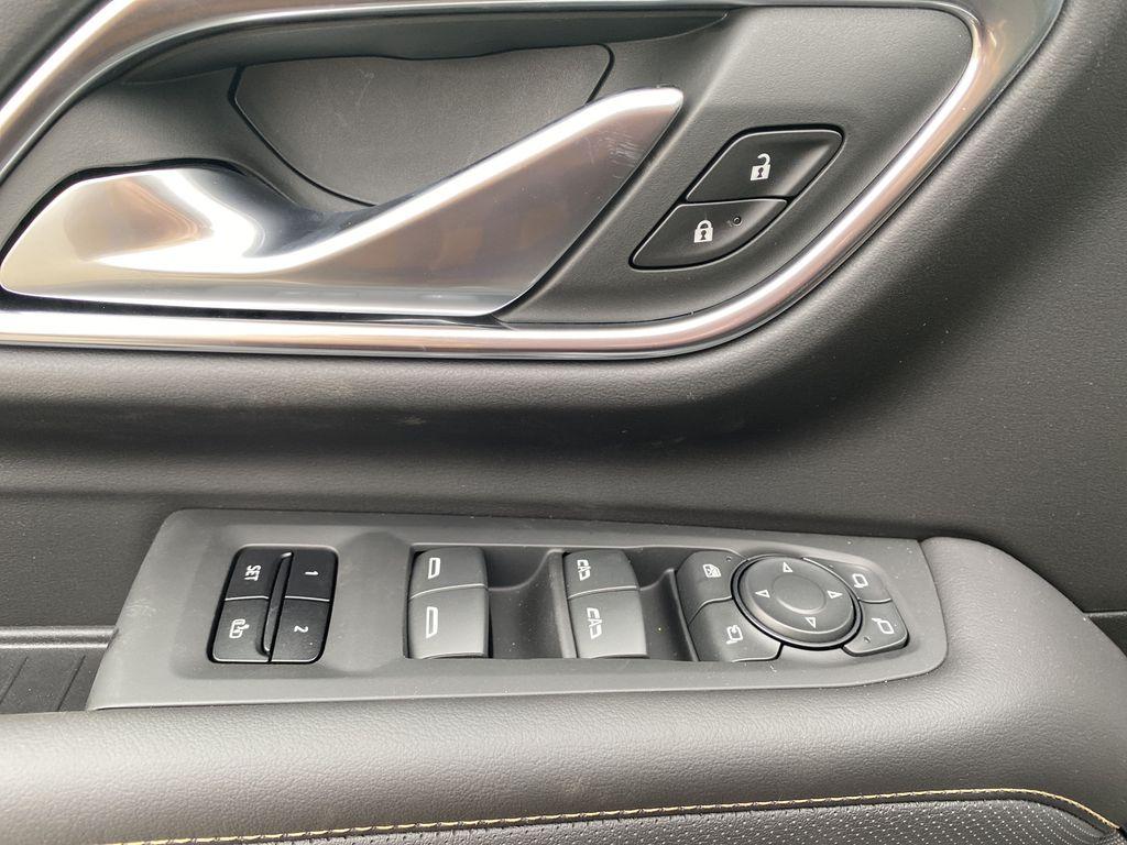 White[White Frost Tricoat] 2021 GMC Yukon XL  Driver's Side Door Controls Photo in Edmonton AB