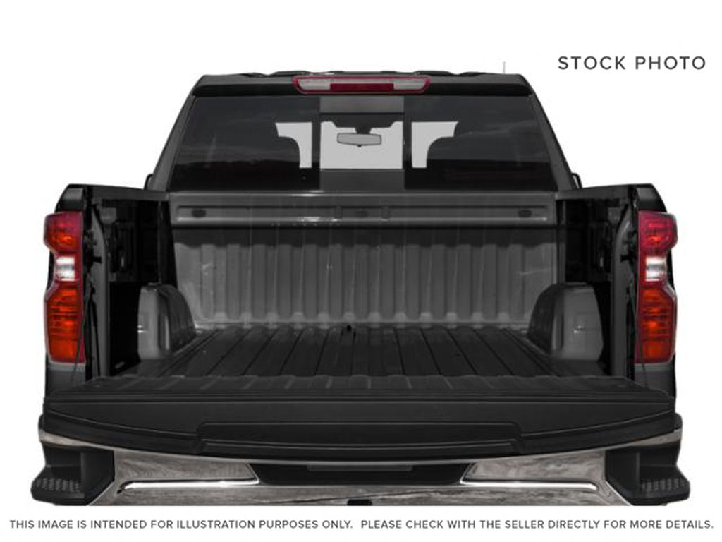 White[Iridescent Pearl Tricoat] 2020 Chevrolet Silverado 1500 Trunk / Cargo Area Photo in Fort Macleod AB