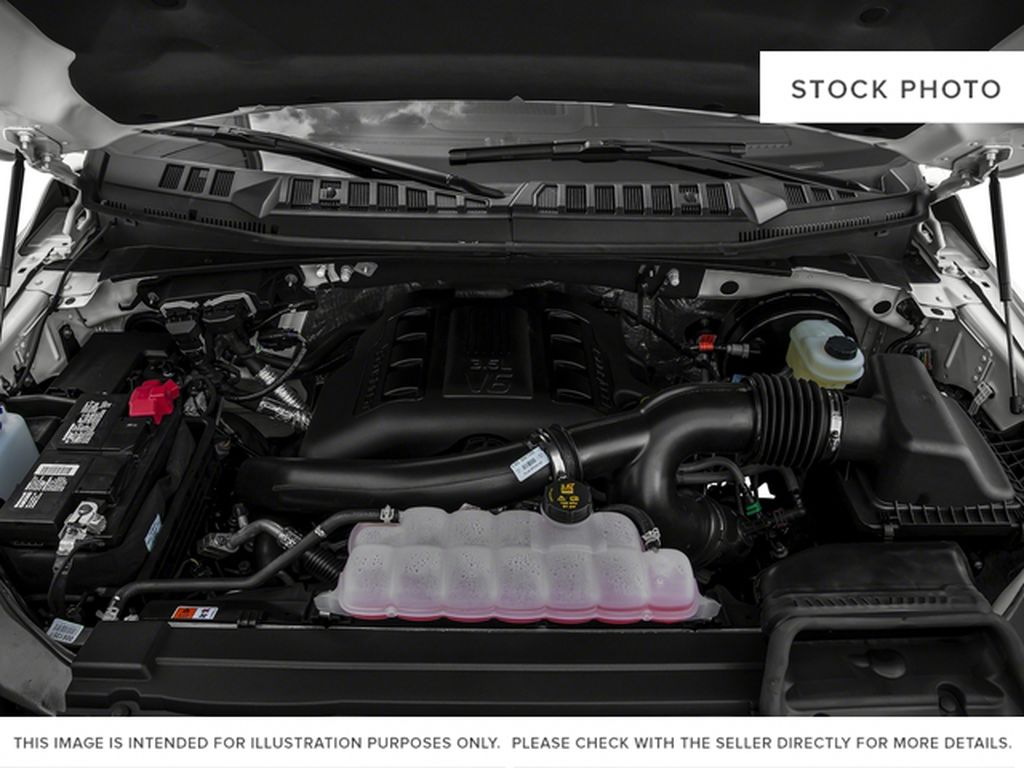 Red[Race Red] 2017 Ford F-150 Engine Compartment Photo in Fort Macleod AB