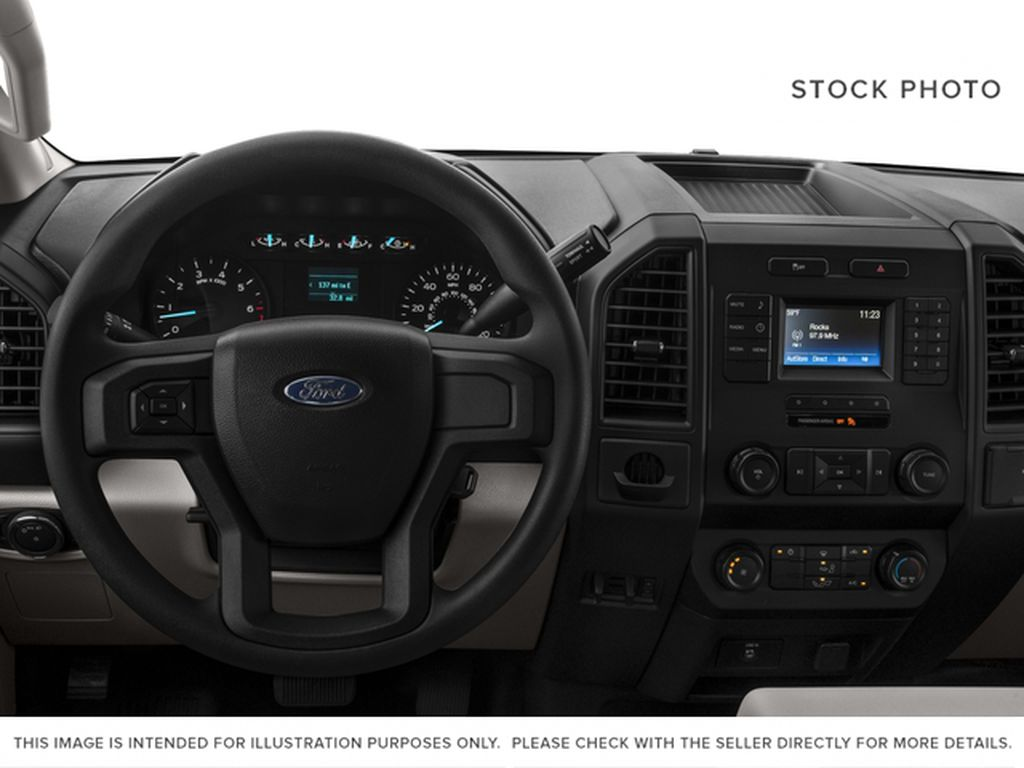 Red[Race Red] 2017 Ford F-150 Steering Wheel and Dash Photo in Fort Macleod AB