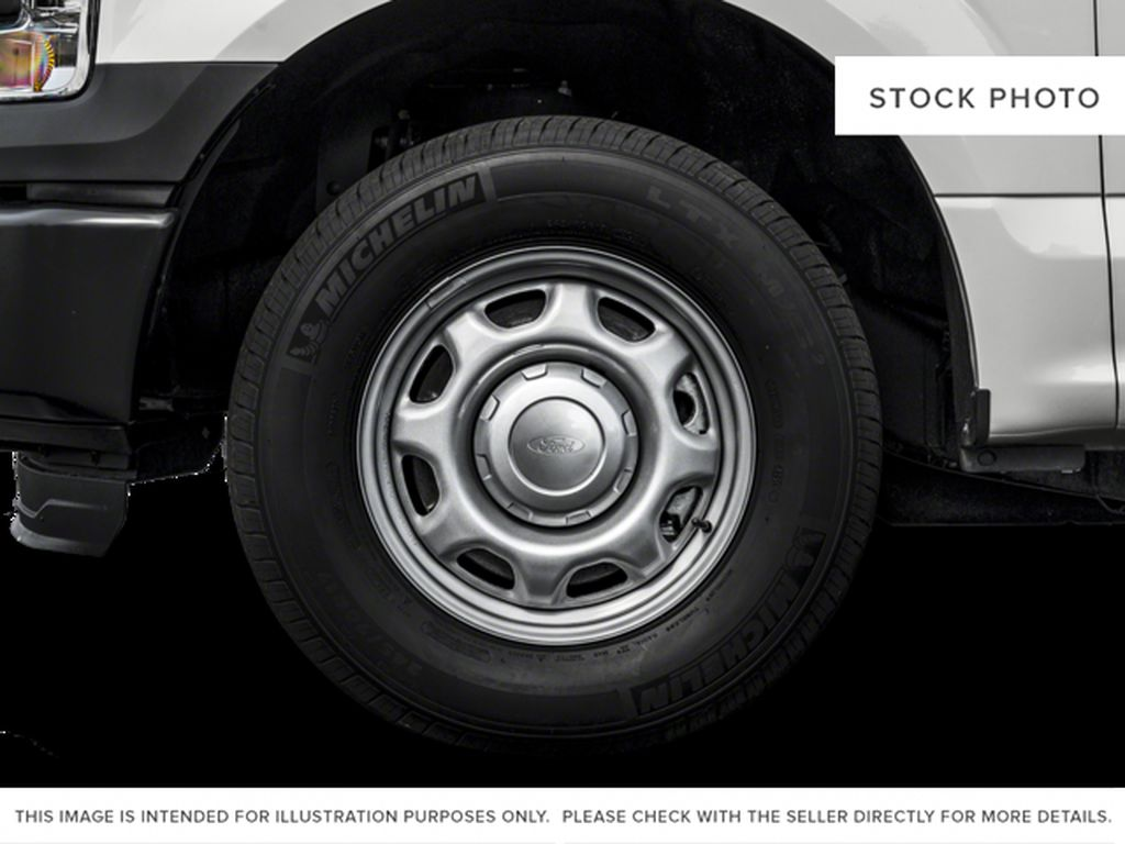 Red[Race Red] 2017 Ford F-150 Left Front Rim and Tire Photo in Fort Macleod AB