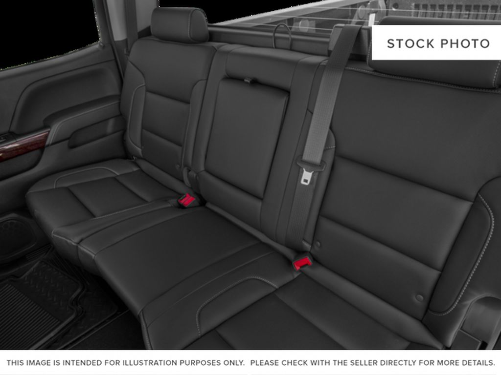 Silver[Quicksilver Metallic] 2018 GMC Sierra 2500HD Left Side Rear Seat  Photo in Fort Macleod AB