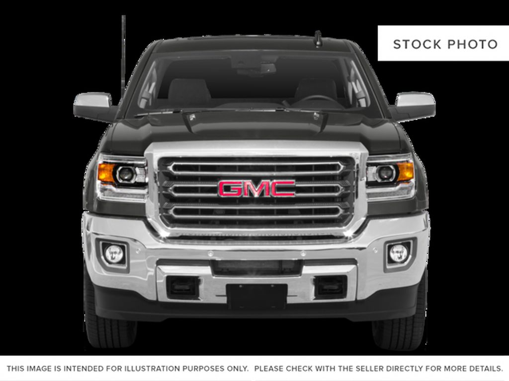 Silver[Quicksilver Metallic] 2018 GMC Sierra 2500HD Front Vehicle Photo in Fort Macleod AB