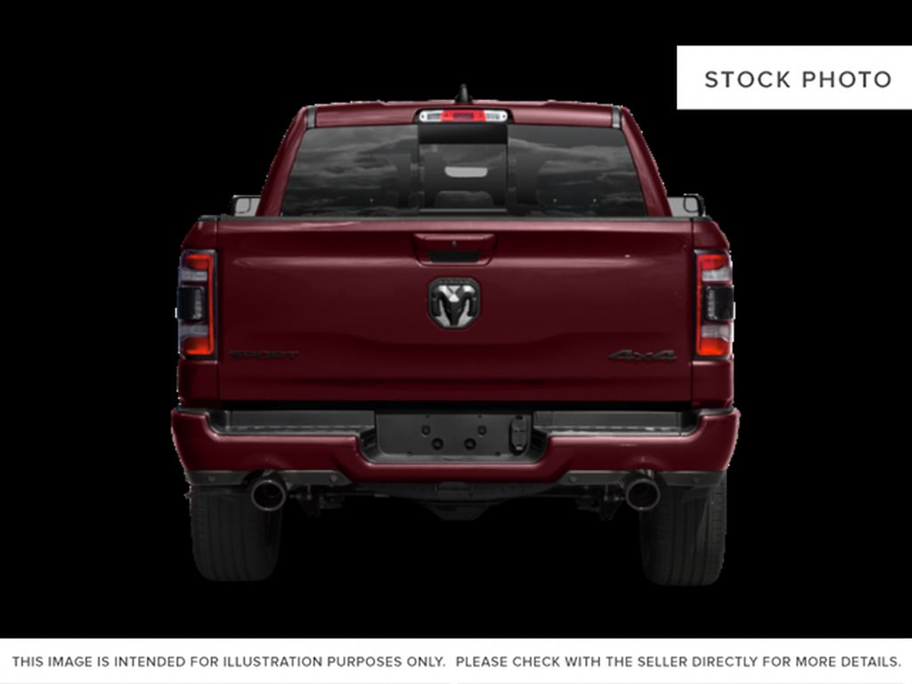 Silver[Billet Silver Metallic] 2020 Ram 1500 Rear of Vehicle Photo in Fort Macleod AB