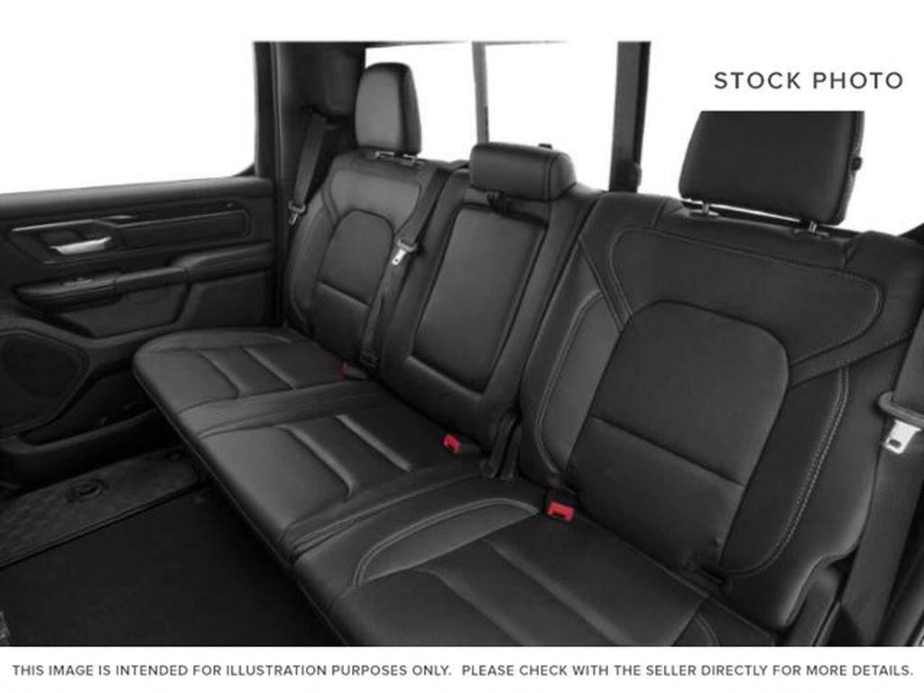 Silver[Billet Silver Metallic] 2020 Ram 1500 Left Side Rear Seat  Photo in Fort Macleod AB