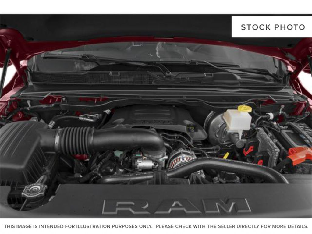Silver[Billet Silver Metallic] 2020 Ram 1500 Engine Compartment Photo in Fort Macleod AB